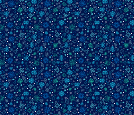 Decorative Stars fabric by oksancia on Spoonflower - custom fabric