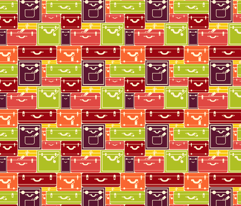 Luggage fabric by oksancia on Spoonflower - custom fabric
