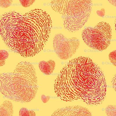 Fingerprint Hearts