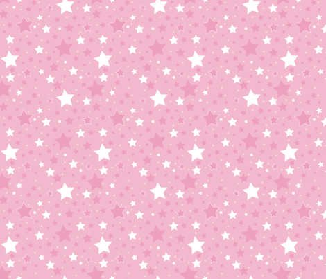 Circus Star fabric by monda on Spoonflower - custom fabric