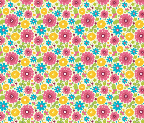 Summer Field fabric by oksancia on Spoonflower - custom fabric
