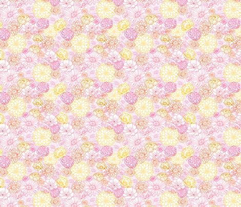 Wedding Bouquet fabric by oksancia on Spoonflower - custom fabric