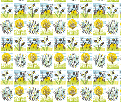 meadow_mix_2 fabric by antoniamanda on Spoonflower - custom fabric