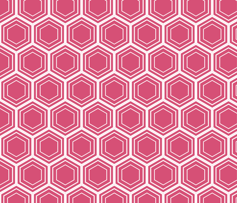 honeysuckle honeycomb fabric by amybethunephotography on Spoonflower - custom fabric