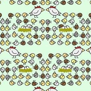 Swirl Of Chicks