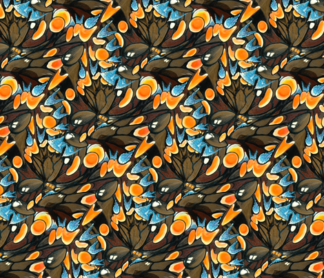 Butterfly wings fabric by hannafate on Spoonflower - custom fabric
