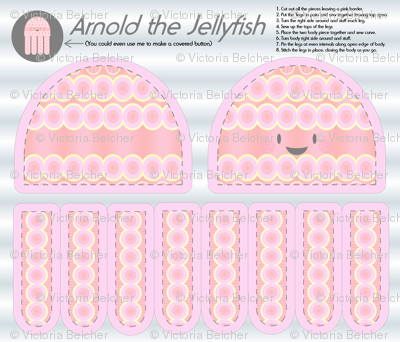 Arnold the Jellyfish - Plushie