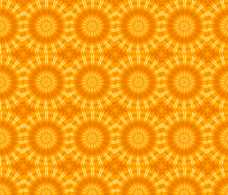 Citrus and Sunshine fabric by cksstudio80 on Spoonflower - custom fabric