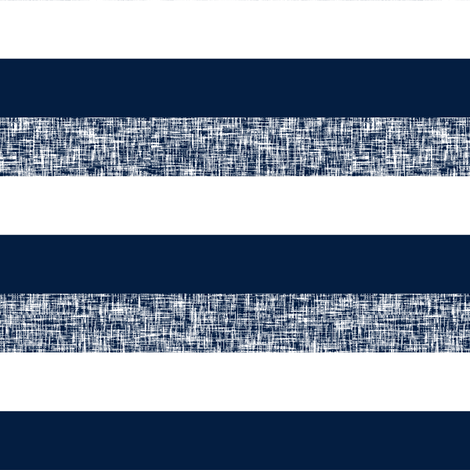 Navy + white + textured spring stripes by Su_G fabric by su_g on Spoonflower - custom fabric