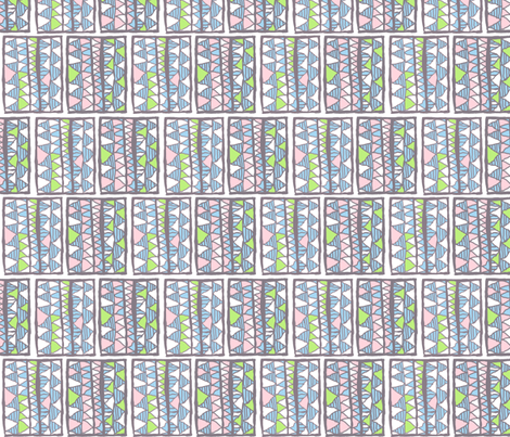 Gelati registers on white, medium fabric by su_g on Spoonflower - custom fabric