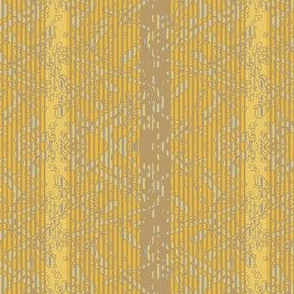 Tapestry Stripe - gold