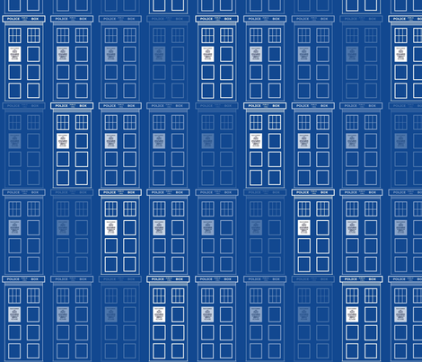 Disappearing Tardis