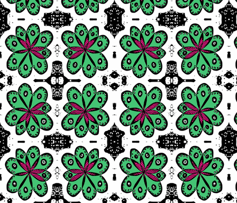 Green Thumb fabric by eiralav on Spoonflower - custom fabric