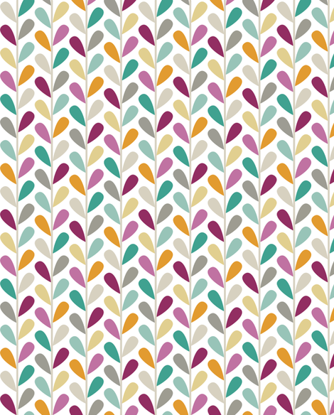 If By Air - Leaves, Custom Lg Scale fabric by ttoz on Spoonflower - custom fabric