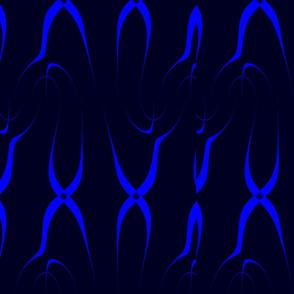 navy and blue crisscross