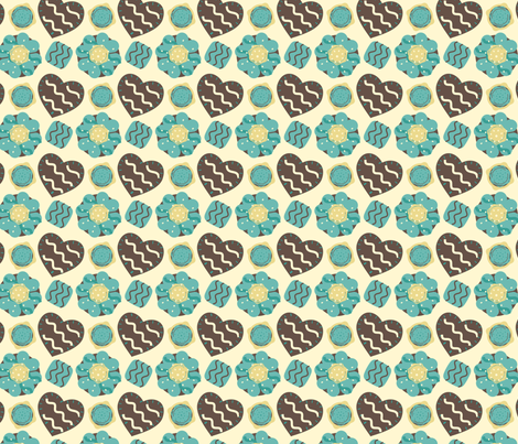 Cookies For Cook fabric by eppiepeppercorn on Spoonflower - custom fabric