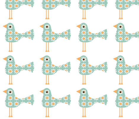 Leggy Birds fabric by nezumiworld on Spoonflower - custom fabric
