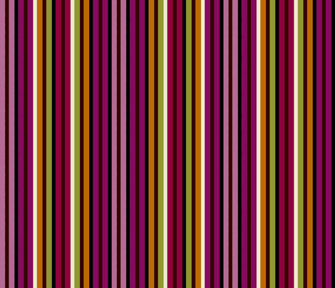 Orchid Ewe Knot Stripe fabric by peacoquettedesigns on Spoonflower - custom fabric