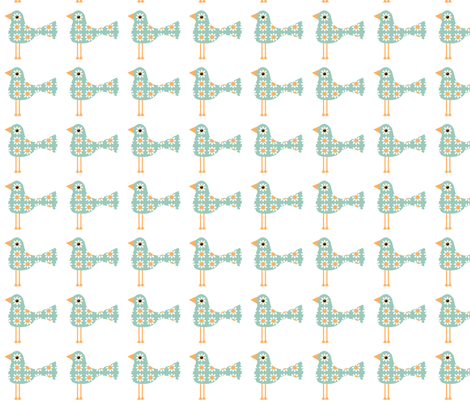 Little Leggy Birds fabric by nezumiworld on Spoonflower - custom fabric
