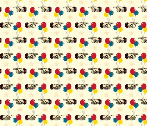 Circus Balloons fabric by pennycandy on Spoonflower - custom fabric