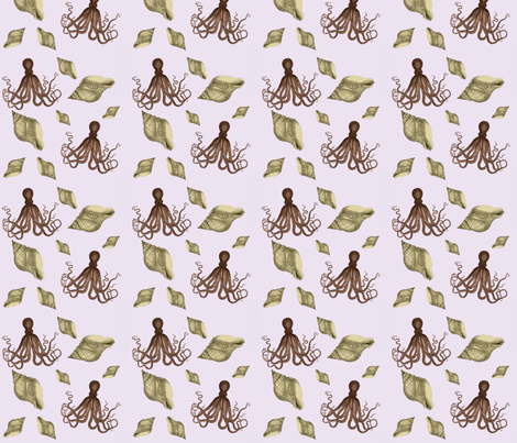 Sealife fabric by glanoramay on Spoonflower - custom fabric