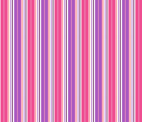 PINK STRIPE COORDINATE fabric by gsonge on Spoonflower - custom fabric