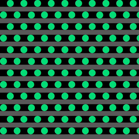 greendots fabric by pepie on Spoonflower - custom fabric