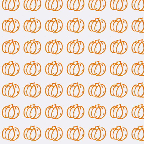 Pumpkin Patch Orange fabric by pumpkintreelane on Spoonflower - custom fabric