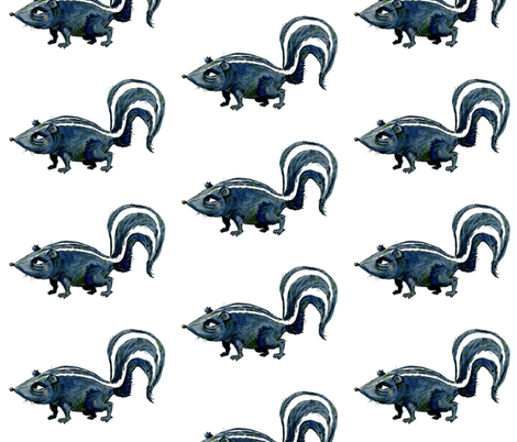 Skunk! fabric by taraput on Spoonflower - custom fabric