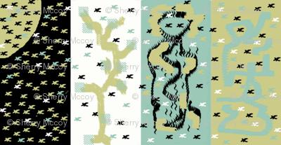 Bird Panel Abstract