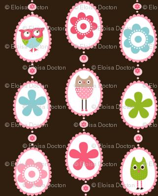 Owls Medallions