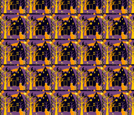 Halloween Fun fabric by eppiepeppercorn on Spoonflower - custom fabric