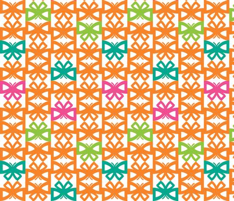 ButterflyGrid.C-ch fabric by kimnb on Spoonflower - custom fabric