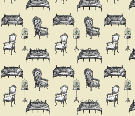 A Comfortable Place fabric by glanoramay on Spoonflower - custom fabric