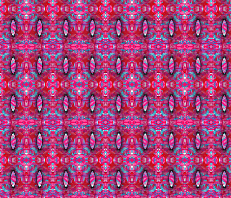 pink_blue_and_spirograf fabric by vinkeli on Spoonflower - custom fabric