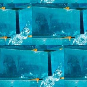 blocks of ice