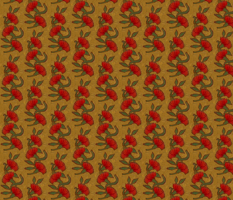 Red Carnation / 8 fabric by paragonstudios on Spoonflower - custom fabric