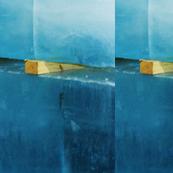 mirrored ice