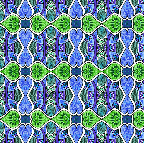 The Day That Plaid Went Mad fabric by edsel2084 on Spoonflower - custom fabric