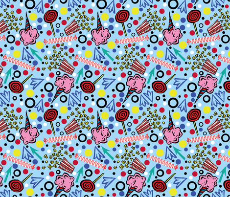 Sweet Treats fabric by gsonge on Spoonflower - custom fabric