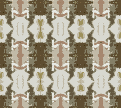Fast Forward to Fall fabric by susaninparis on Spoonflower - custom fabric