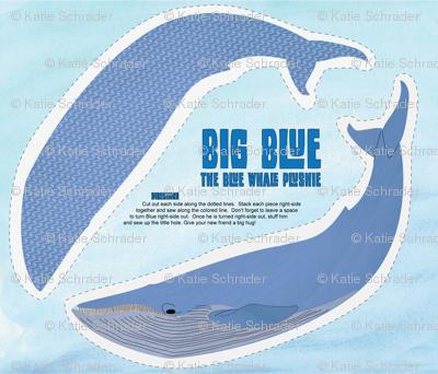 Big Blue - The Blue Whale Plushie