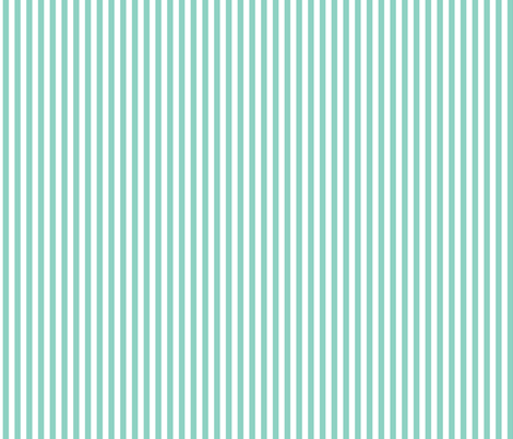 Mint Stripe fabric by sweetzoeshop on Spoonflower - custom fabric