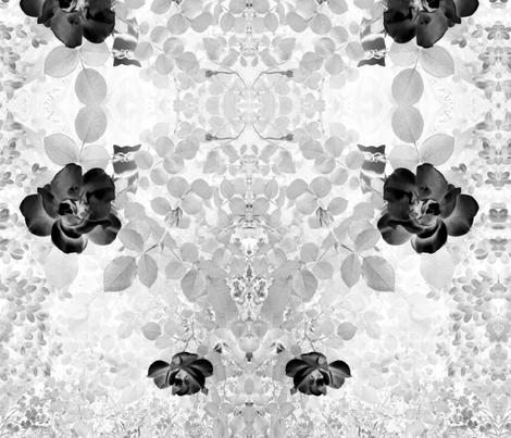 Gray Garden Kitty Cat fabric by twindesign on Spoonflower - custom fabric