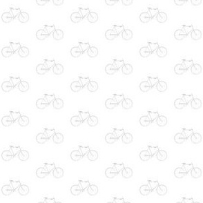 Gray Vintage Bicycle