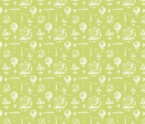 Celery Vintage Balloons