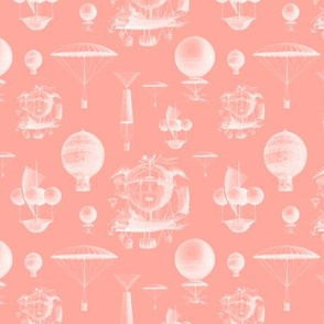 Coral Vintage Balloons