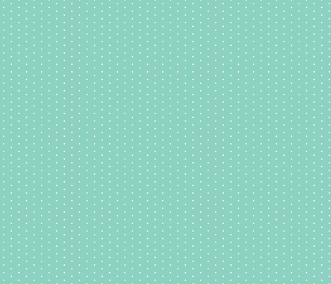 Mint Tiny Dot fabric by sweetzoeshop on Spoonflower - custom fabric