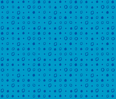 Blue Dots fabric by gsonge on Spoonflower - custom fabric