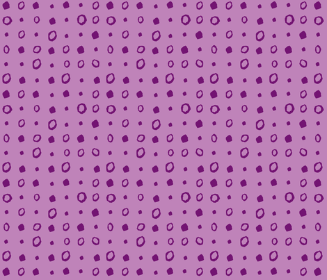 Purple dots fabric by gsonge on Spoonflower - custom fabric